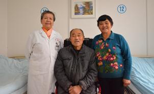 肝癌患者黄效林:不是一家人 胜