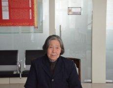 食道癌患者杨文兰